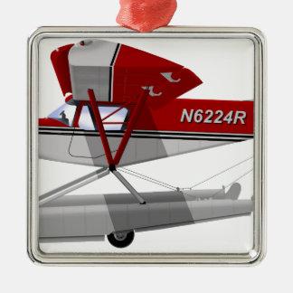 Zenair CH-701の水陸両生動物 メタルオーナメント