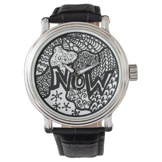 Zendoodleは今見ます 腕時計