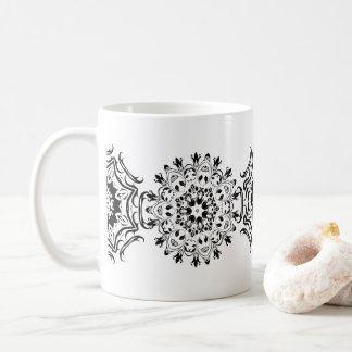 Zentangleパターン コーヒーマグカップ
