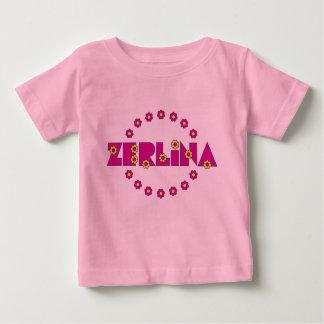 Zerlina deフローレス島Arcoのアイリス ベビーTシャツ