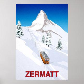 Zermatt ポスター