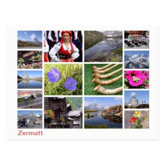 Zermatt multi-image ポストカード