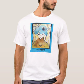 """Zermeno著""""青いダイアナ"""" Tシャツ"""