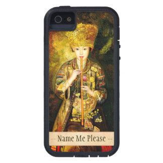Zhangbo Hmong文化女の子は中国のな女性を配管しています iPhone SE/5/5s ケース