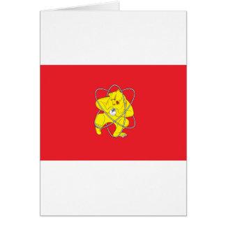 Zheleznogorskの旗 カード