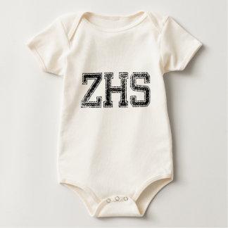 ZHSの高等学校-動揺してなヴィンテージ ベビーボディスーツ