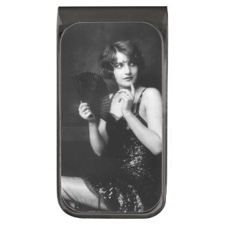 Ziegfeld Follies ガンメタル マネークリップ