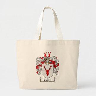 /Zieglerの家紋Zieglerの紋章付き外衣 ラージトートバッグ