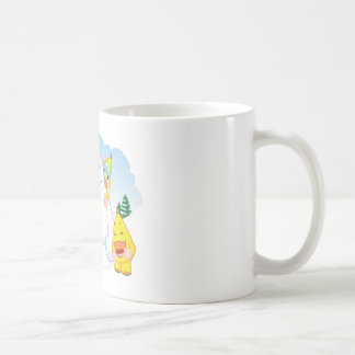 Zingozの雪だるま コーヒーマグカップ