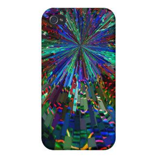 Zinzelleの青い輝きの花火 iPhone 4/4S ケース