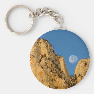 Zionの日の出の満月 キーホルダー