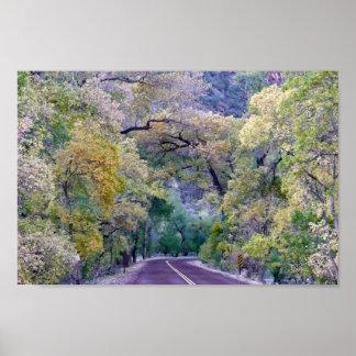 Zionの景色の道 ポスター