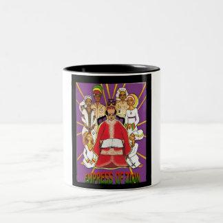 Zionの皇后 ツートーンマグカップ