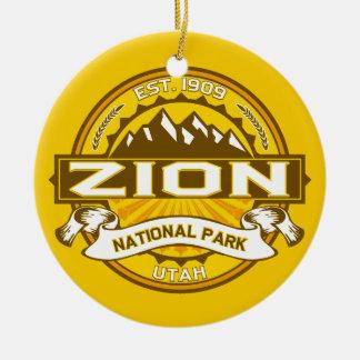 ZionのGoldenrod セラミックオーナメント