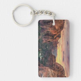 Zion渓谷の国立公園 キーホルダー