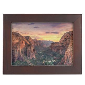 Zion渓谷の国立公園 ジュエリーボックス