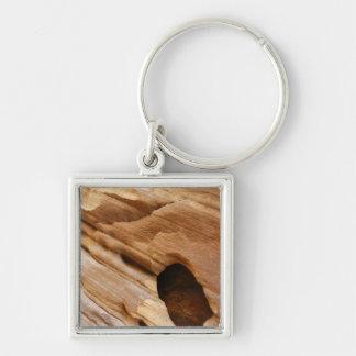Zion渓谷壁私は自然の写真撮影を抽出します キーホルダー