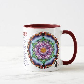 Zionesqueのナマステのマグ マグカップ