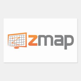 ZMapのステッカー(4)のシート 長方形シール