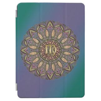 Zodiac Sign Virgo Mandala Earth Tones iPad Air カバー