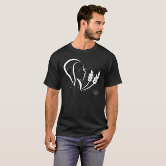 zodiakの《星座》乙女座の種族アイコン tシャツ