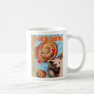 ZoeSPEAK -私は干しぶどうのパンがほしいと思います コーヒーマグカップ