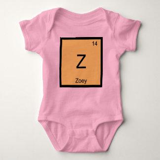 Zoey一流化学要素の周期表 ベビーボディスーツ