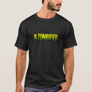 ZombifiedのTシャツ-ハロウィンの限定版 Tシャツ