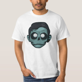 Zomboy HDのヘッドロゴ Tシャツ