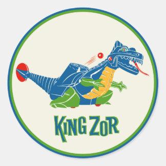 Zor Toy Stickerヴィンテージ王 ラウンドシール