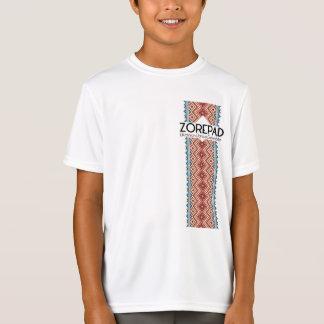 Zorepadは側面を刺繍しました Tシャツ