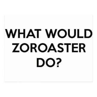 Zoroasterは何をしますか。 ポストカード