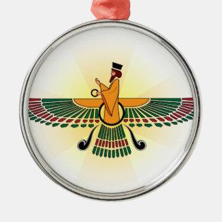 Zoroastrianの休日のオーナメント メタルオーナメント