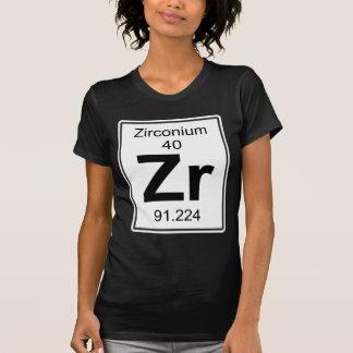 Zr - Zirconium Tシャツ