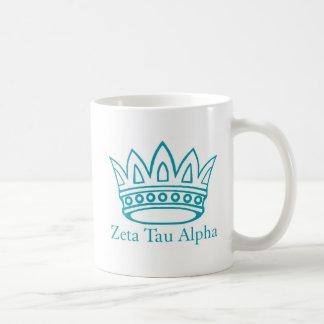 ZTAのZTAの王冠 コーヒーマグカップ