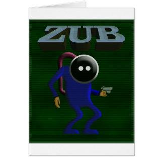 Zubのレトロの賭博 カード
