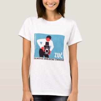 Zucのカメラ Tシャツ