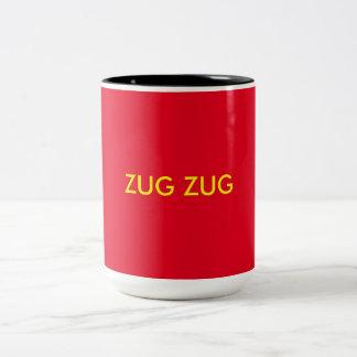 Zug Zug ツートーンマグカップ