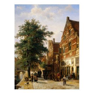 Zuiderhavendijk、コルネリスのスプリンガーによるEnkhuizen ポストカード