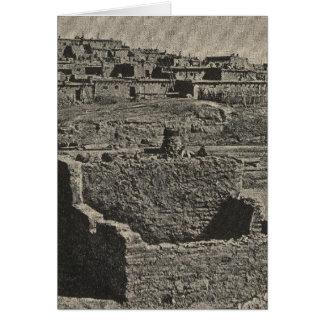 Zuniの眺め カード