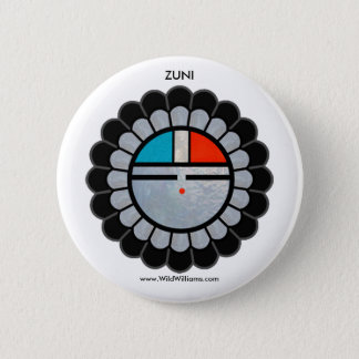 Zuni日曜日ボタン 5.7cm 丸型バッジ