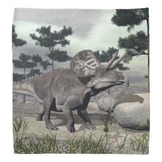 Zuniceratopsの恐竜- 3Dは描写します バンダナ