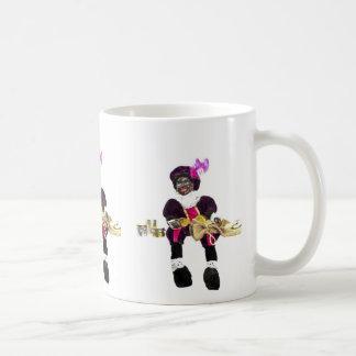 Zwarte Pietのコップ コーヒーマグカップ