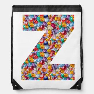 ZZZのアルファベットのバックパック:  NAVIN JOSHIによる芸術 ナップサック