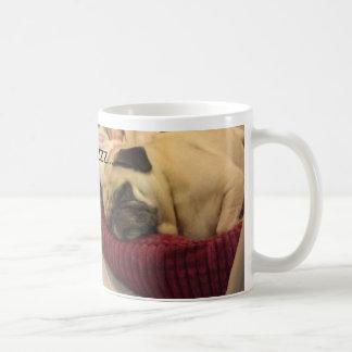 ZZZの…パグ コーヒーマグカップ