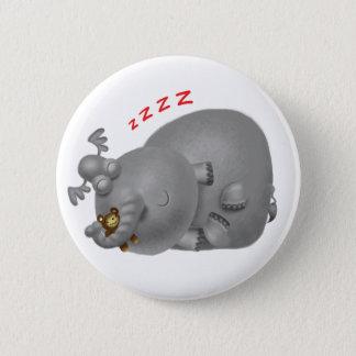 ZZZ象 5.7CM 丸型バッジ