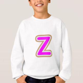 ZZZ ALPHAZのアルファベット スウェットシャツ