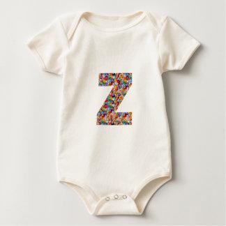 ZZZ YYY AAA SSS ZZ YYのオウムSS Z Y SのギフトのおもしろいALPH ベビーボディスーツ