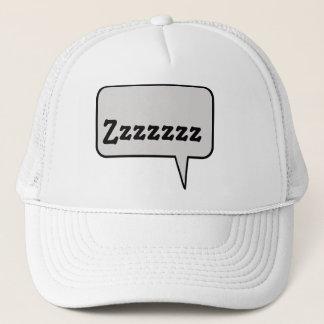 Zzzzの睡眠の音のスピーチの泡帽子 キャップ